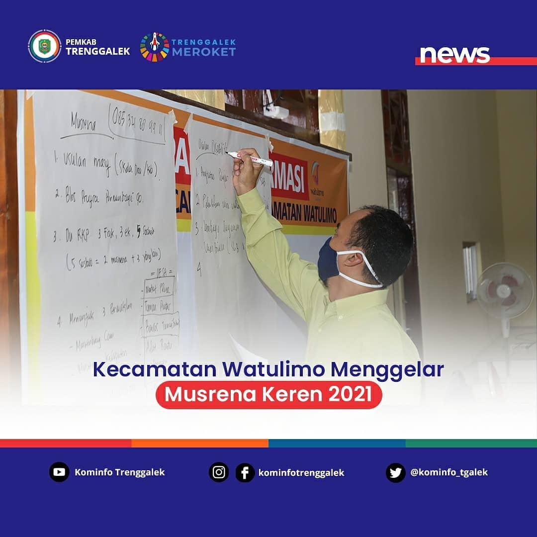 Kecamatan Watulimo Menggelar Musrena Keren Tahun 2021