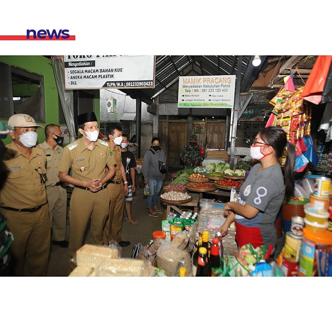 Tinjau Sejumlah Pasar, Wakil Bupati Syah Ingin pastikan Stok dan Harga Kebutuhan Pokok Aman Jelang Ramadhan