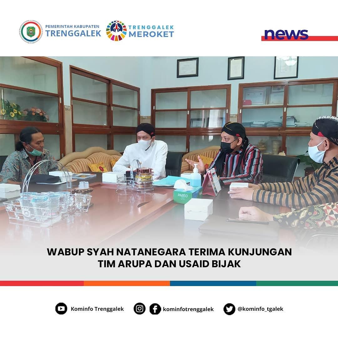 Wabup Syah Natanegara Terima Kunjungan Tim ARuPA dan USAID Bijak