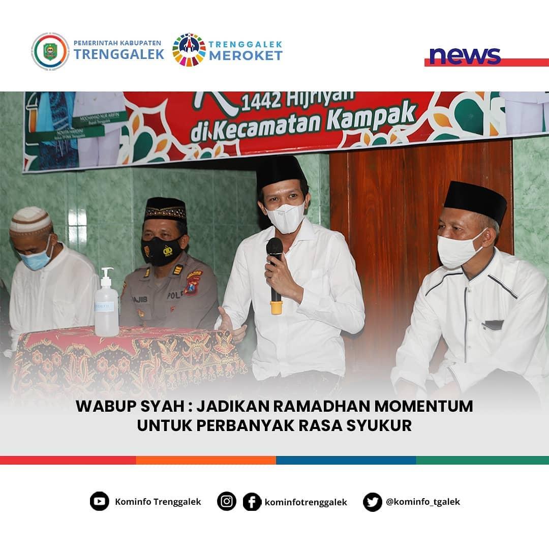 Wabup Syah : Jadikan Ramadhan Momentum Untuk Perbanyak Rasa Syukur